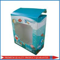 clear window paper custom color box made of high quality white chipboard