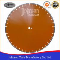 China 600mm Laser Welded Diamond Saw Blade Reinforced Concrete Cutting Disc on sale