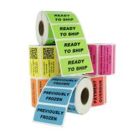 Best Waterproof Personalized Business Labels / Custom Label Printing Freeze Resistant wholesale
