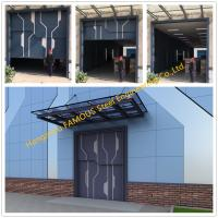 China Sectional Steel Lift Door Vertical Panel Lifting Industrial Sectional Door For Garage Use on sale