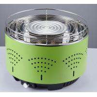 China Portable lotus round BBQ smokeless grill air control electronic fan quick heat barbecue charcoal grill on sale