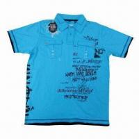 Best Men's Polo Shirt, 100% Cotton Single Jersey wholesale
