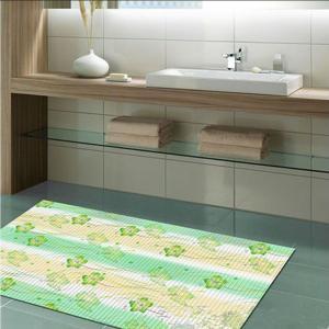 China Nitrile Sponge Rubber PVC Anti Slip Mat , Cold Proof Non Slip Kitchen Floor Mats on sale
