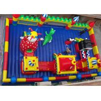 Best Children Inflatable Amusement Park Combo / Inflatable Toys For Commerial Business wholesale