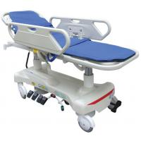 Best CPR Handle Patient Transport Stretcher In Emergency , Electric Transport Trolley wholesale