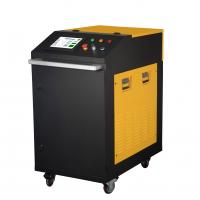 Best Hand Held 200W Metal Laser Cleaning Machine For Metal Steel With Water Cooling wholesale