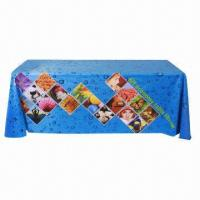 Best Large format table wrap banner, with polyester fabric, used in expo, speech  wholesale