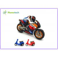 China Small Size Promotion Motorcycle Usb Flash Drive , Moto Car Soft Plastic Usb Drives / U Disk on sale