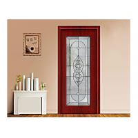 China Art Building Decorative Patterned Glass Panels / Decorative Panels For Doors on sale