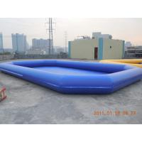 Best 0.6mm PVC Tarpaulin Inflatable Water Swimming Pool, Inflatable Swim Pool For Kids YHWP-007 wholesale