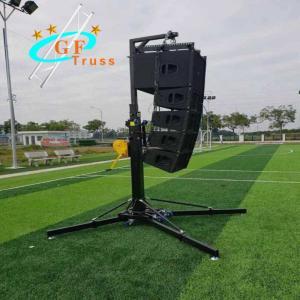 Best Lift 300kg Hand Crank Stand Truss Wedding Tripod Speaker Stand wholesale