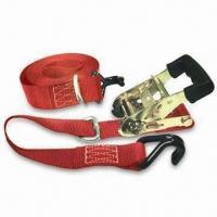 Best Tie Down Strap with J Hooks, D Rings and 15ft Length wholesale