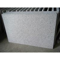 China Exterior Granite Stone Slabs Grey Wall Tiles For Entryway Scratch Resistant on sale
