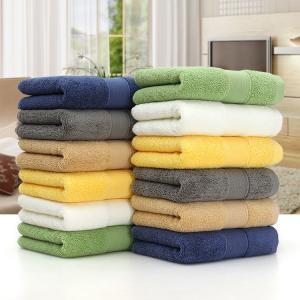 China 35*75cm/70*140cm colorful cotton wholesale face towels bath towels on sale