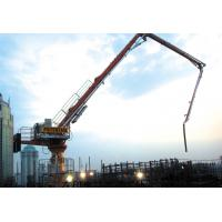 Climbing Placing Boom Concrete Pump HG32 31.7m Radius Of Placing Boom