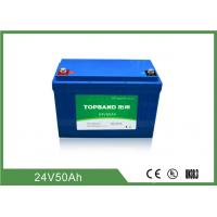 Best 2000 Cycles Life Electric Forklift Battery 24V 50Ah Industrial Forklift Batteries wholesale