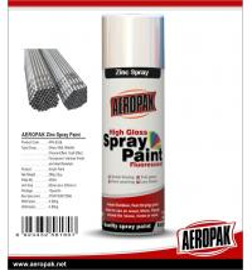 Best Cheap Price Multi-purpose 400ml Acrylic Shenzhen AEROPAK Cold Galvanizing Zinc Spray Paint wholesale