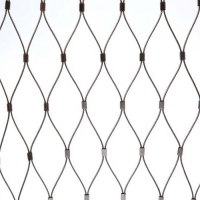 China Stainless Steel Aviary Bird Parrot Fence Flexible Wire Cable Rope Zoo Mesh Netting on sale