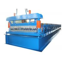 China Corrugated Automatic Roofing Sheet Roll Forming Machine 380v 50HZ Frequency on sale