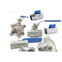Best Threaded Female One Piece Stainless Steel Valves For Hydraulic Engineering wholesale