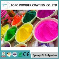 China RAL 1020 Olive Yellow Epoxy Polyester Powder Coating For Indoor Applications on sale