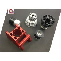 China Black Chrome Plated Machined Metal Parts Anodized Turning And Mill Machining on sale