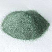 China Green Silicon Carbide for cutting and polishing arts agate and glass on sale