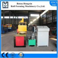 Best Electrical Motor Shutter Door Roll Forming Machine Flying Saw Cutting wholesale