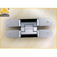 Aluminium Alloy Wardrobe Door Hinges Spring Loaded Hinges Baking Finish