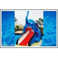 China Outdoor Water Pool Slides for Kids, model of Small Elephant on sale