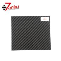 Best Standard stock products,500*600mm 2mm Thickness 3K 100% Carbon Fiber Plate wholesale