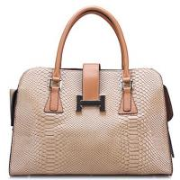embossing cow leather tote bags designer brand style for ladies