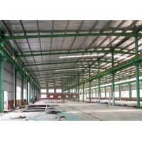 China Q345 Welding Galvanized Light Gauge Steel Framing Durable With Gable Frame on sale
