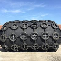 Best Yokohama Black And White Pneumatic Rubber Marine Fender Foam Filled Fender Use On Ship wholesale