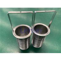 China Wedge Wire Basket Wire Screen Dia 98mm From Inside To Outside For Pipeline Strainer on sale