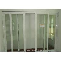 China J148 Series Aluminum Sliding Door With Glass Panel on sale