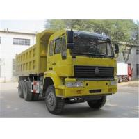 Best Tipper dump truck side 6x4 payload 8Mt 82kw / 130Hp dump semi trailer 3 seats with sleeper wholesale