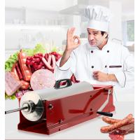 China Two Gear Speed Horizontal Sausage Filler With Stainless Steel And Metal Stand on sale