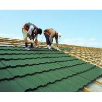 Best green back 0.4mm Color Coated Roofing Sheets with alu zinc steel , Anti-windstorm wholesale