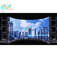 Best 1M Length LED Screen Truss Indoor Advertising Display Flexible Rental Video Wall Support wholesale