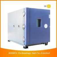 China Combined Temperature Altitude Humidity Low Pressure Test Chamber With Air Cooling Fin Condenser on sale