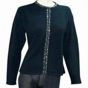 China Ladies sweater, 12gg gauge on sale