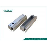 Best 12V DC Stainless Steel Glass Mounting Brackets For Electric Bolt Lock wholesale