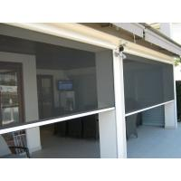 Best Decorative outside usage Motorized automatic roller screen for porch wholesale