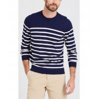 China Multi Material Knit Pullover Sweater For Men Daily Wear Jersey Fabric Type on sale