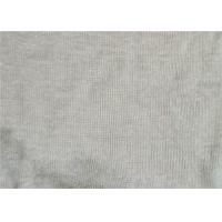 Best Breathable Linen Knit Fabric 100% Fine Linen Knitted 1x1 Rib 270 G/M2 wholesale