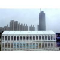 Buy cheap 20x50m Double Storey Tent with ABS  Glass Wall for Luxury Festival , Outdoor Wedding Tents product