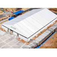 China Big Clear Span Outdoor Event Tents 40X70M For Medical Waste Disposal Center on sale