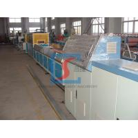 Best Wood Plastic Extrusion Line , Door Making Machine With PLC Control System wholesale
