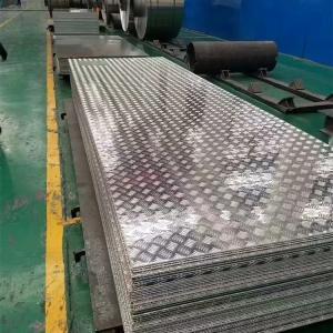 Best 3000 Series Aluminium Checker Plate 1.0 - 5.0mm Thickness 5 Bar Pattern wholesale